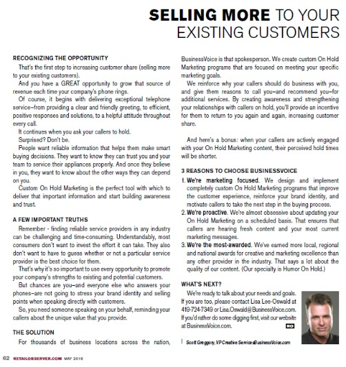 Retail Observer Article